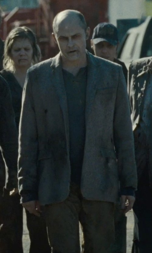 Rob Corddry with Levi's Straight Fit Corduroy Pants in Warm Bodies