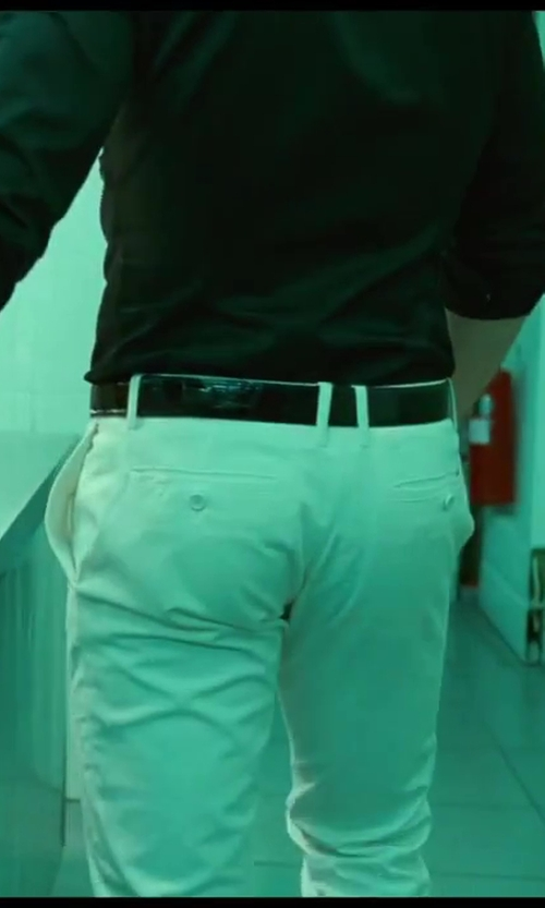 Jai Courtney with DiStefano Classic Crocodile Belt in A Good Day to Die Hard