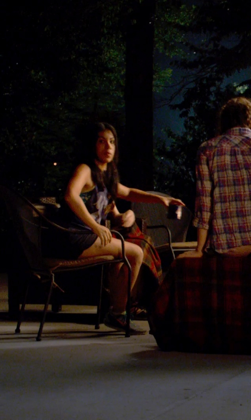Chrissie Fit with Hurley Supersuede Beachrider Runner Short in Pitch Perfect 2