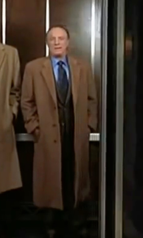 James Caan with Won Hundred Ludwig Overcoat in Elf