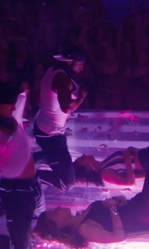 Stephen Boss with True Religion Ricky Midnight Straight-Fit Jeans in Magic Mike XXL