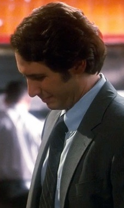 Josh Groban with Michael Kors Vitality Striped Silk Tie in Crazy, Stupid, Love.