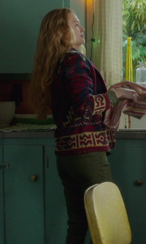 Mireille Enos with NLST Slouch Utility Trousers in If I Stay