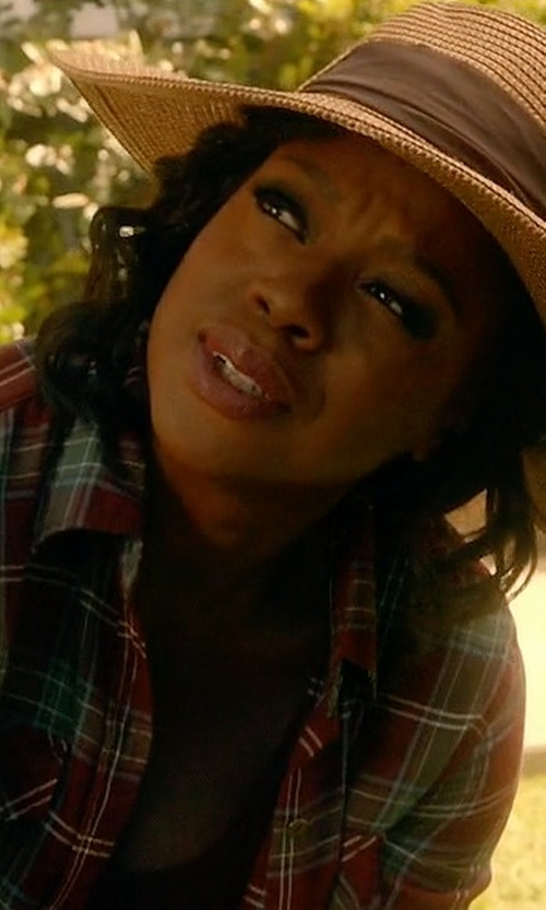 Viola Davis with Current/Elliott The Perfect Long-Sleeve Shirt in How To Get Away With Murder