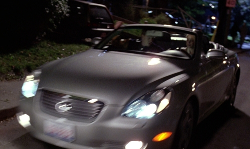 Rachel McAdams with Lexus 2002 SC 430 Base Convertible Car in Mean Girls