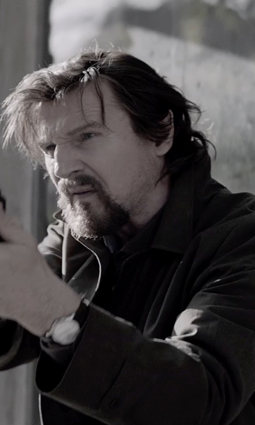 Liam Neeson with Hamilton Jazzmaster Viewmatic Watch in A Walk Among The Tombstones