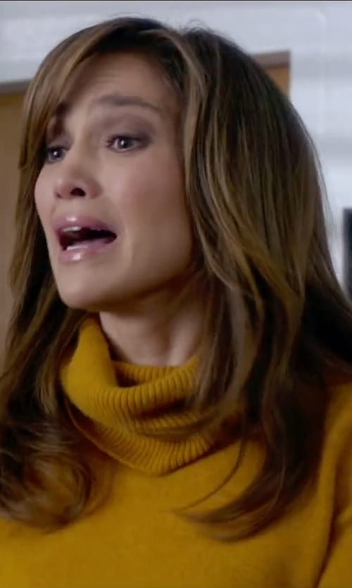 Jennifer Lopez with Shephe Women's 4 Ply Turtleneck Cashmere Sweater in The Boy Next Door