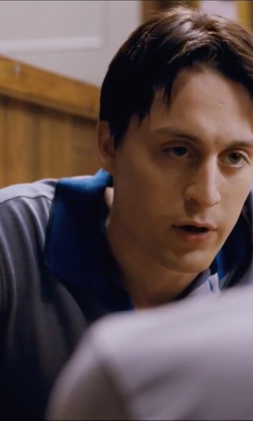 Kieran Culkin with Brooks Brothers Slim Fit Contrast Collar Polo Shirt in Scott Pilgrim Vs. The World