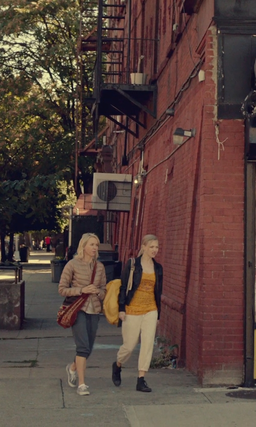 Amanda Seyfried with Kipling Ravier Backpack in While We're Young