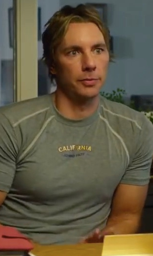 Dax Shepard with Sol Angeles Texas Jersey T-Shirt in CHIPs