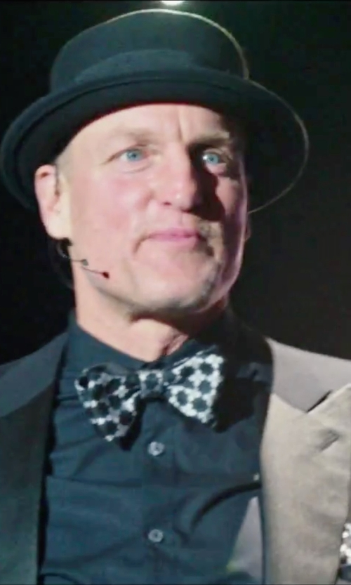 Woody Harrelson with Boss Silk Lapel Tuxedo in Now You See Me 2