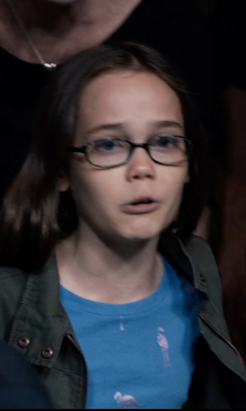 Oona Laurence with Inktastic Earth Day Butterfly Youth T-Shirt in Southpaw