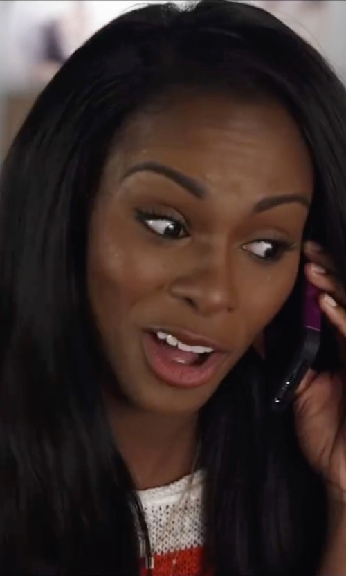 Tika Sumpter with Apple iPhone 6 in Ride Along 2