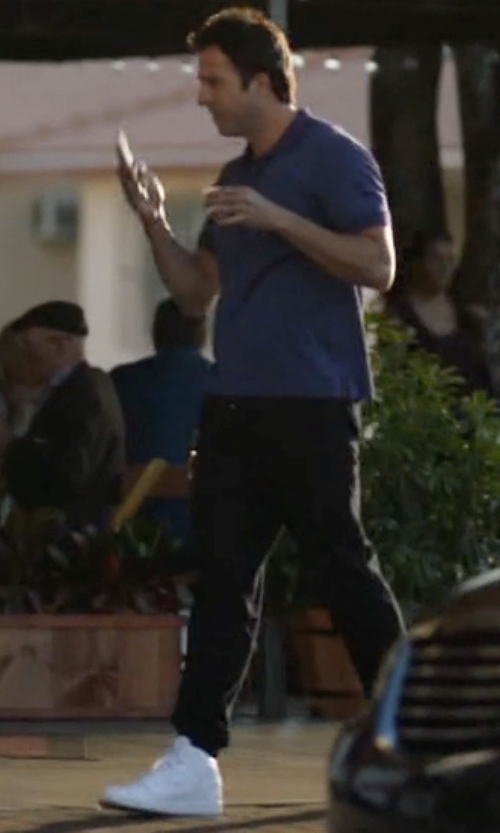 Troy Garity with Nike Dunk High X DSM in Ballers