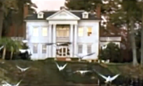 Ryan Gosling with Martins Point Plantation (Depicted as Noah's House) Charleston County, South Carolina in The Notebook
