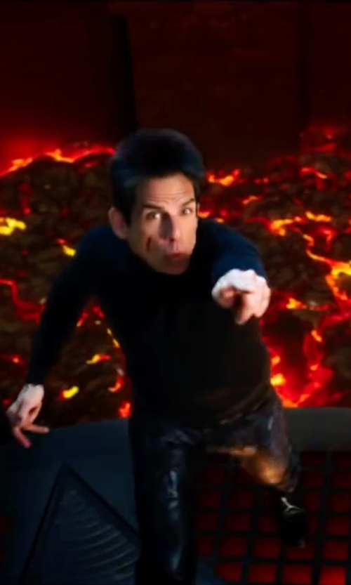 Ben Stiller with Valentino Camubutterfly Trousers in Zoolander 2