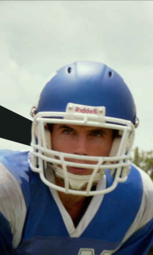 Robbie Amell with Schutt Sports Youth Football Air Standard II Helmet in The DUFF