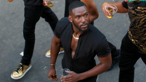 Kofi Siriboe with Amazon Collection Yellow Gold 5mm Curb Link Bracelet in Girls Trip