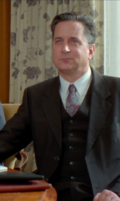 Unknown Actor with Tagliatore Three Piece Suit in Unfinished Business