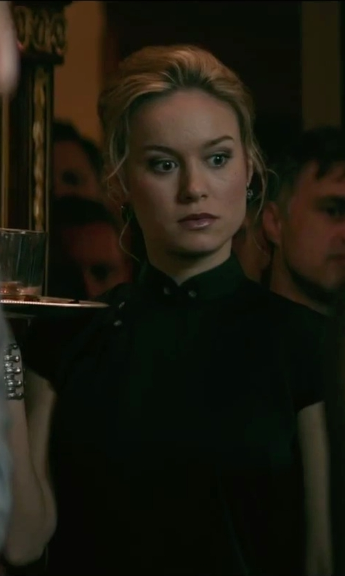 Brie Larson with Bitablue Women's Chinese Dragon and Phoenix Knee-length Dress in The Gambler