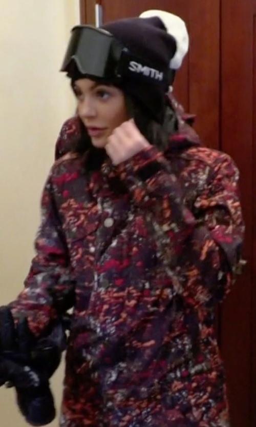 Kylie Jenner with Burton Women's Riley One Piece Jacket in Keeping Up With The Kardashians
