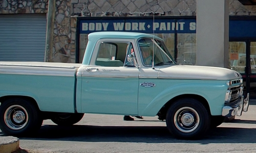 Scott Mescudi with Ford 1966 F100 Truck in Need for Speed