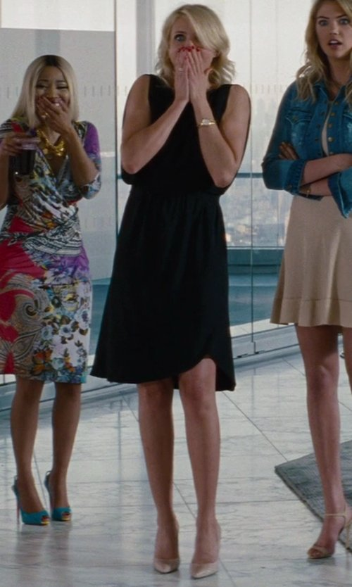 Cameron Diaz with Christian Louboutin Python Pigalle Pump in The Other Woman
