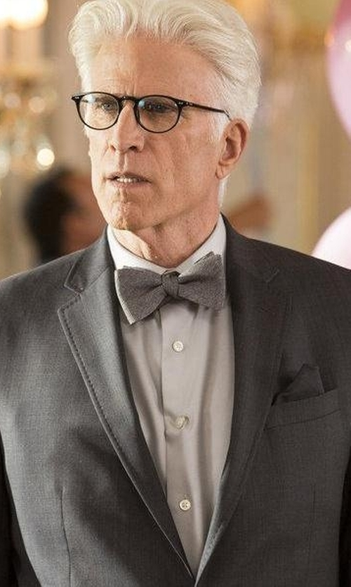 Ted Danson with Z Zegna Techmerino Slim-Fit Wool Suit in The Good Place