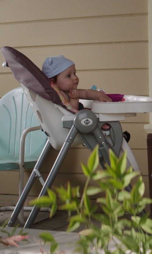 Elise Vargas with Safety 1st AdapTable High Chair in Neighbors