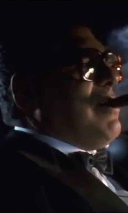 Elliott Gould with Armani Collezioni Giorgio Peak Lapel Tuxedo Suit in Ocean's Eleven