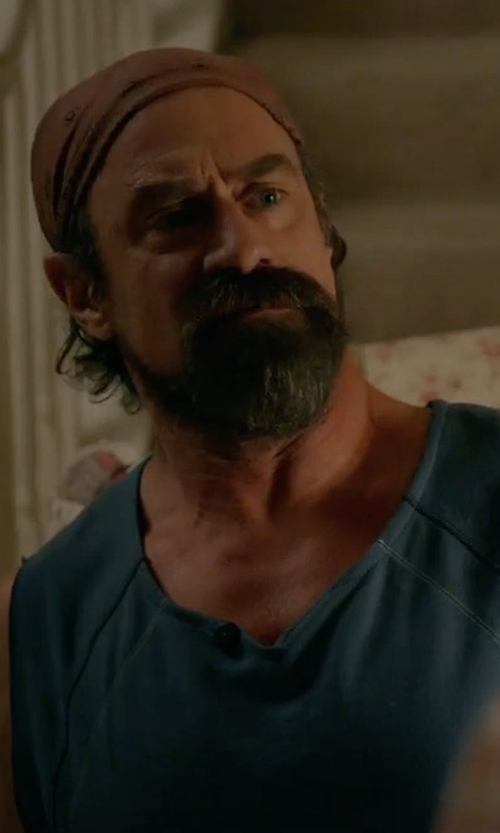 Christopher Meloni with Joe's Jeans Ayers Muscle Tee in Wet Hot American Summer: Ten Years Later