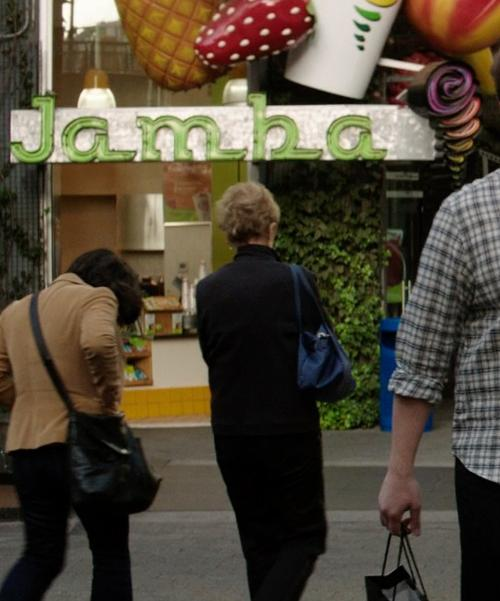 Unknown Actor with Jamba Juice Universal City, California in Neighbors