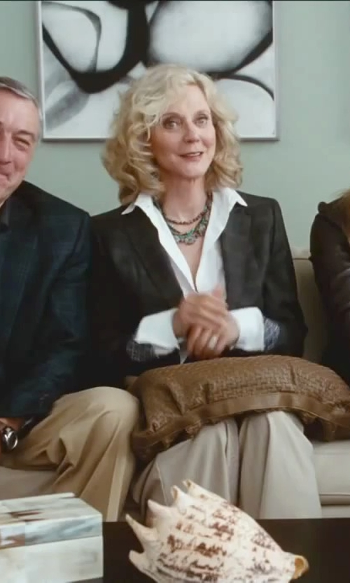 Blythe Danner with Antica Murrina Elizabeth Murano Glass Necklace in Little Fockers