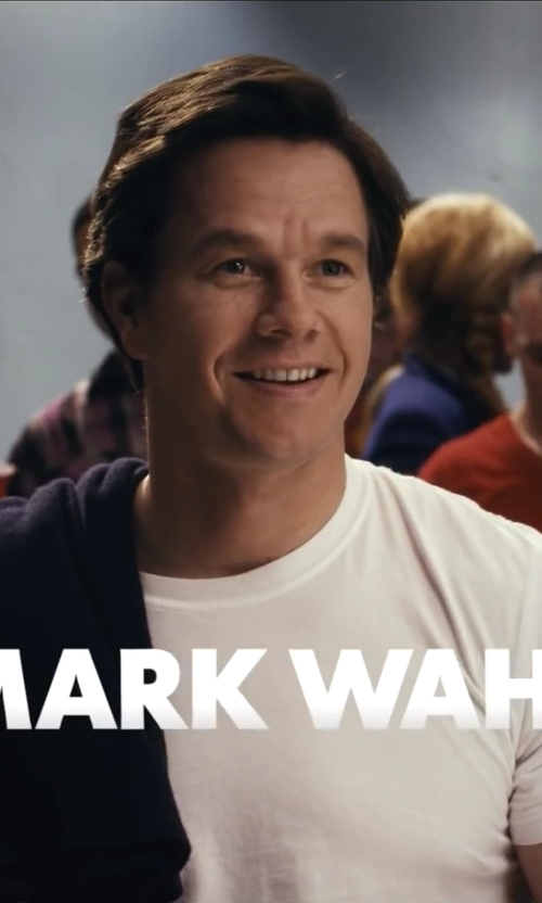 Mark Wahlberg with Everlane The Cashmere V-Neck Sweater in Ted