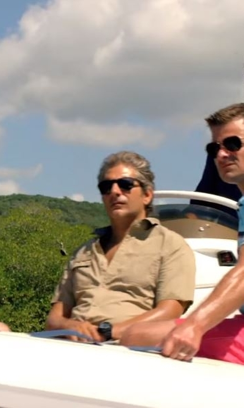 Michael Imperioli with The North Face Short Sleeve Cool Horizon Shirt in Mad Dogs