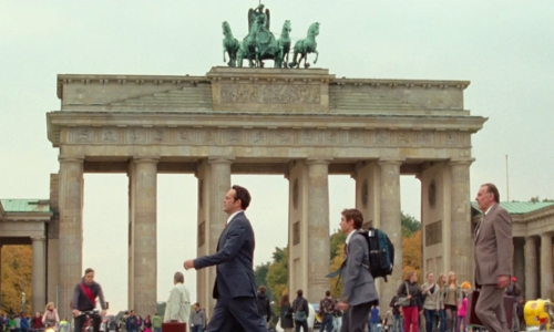 Vince Vaughn with Brandenburg Gate Berlin, Germany in Unfinished Business