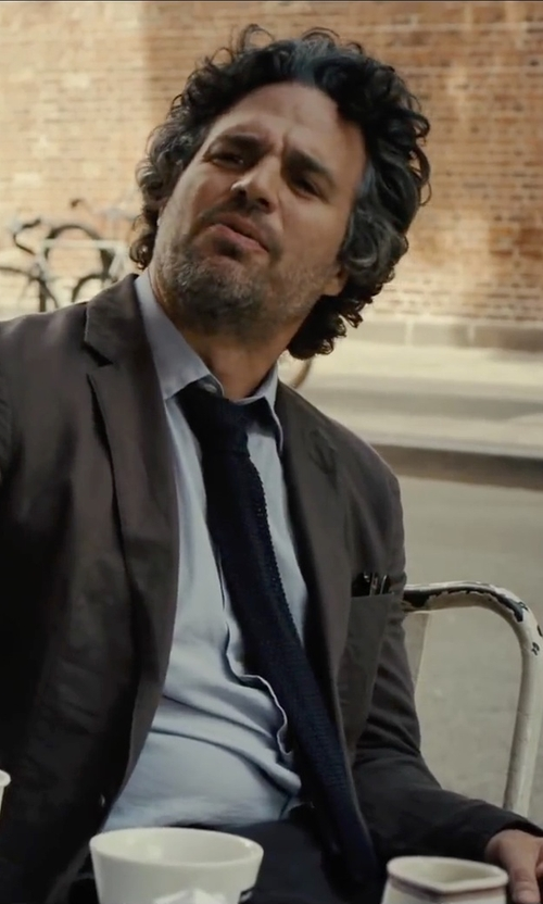 Mark Ruffalo with Boglioli Classic Blazer in Begin Again