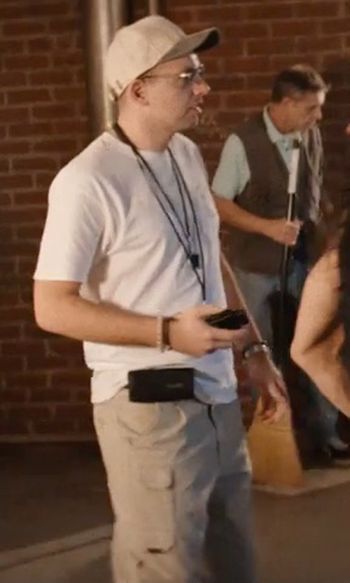 Paul Scheer with Prana Convertible Cargo Hiking Pants in The Disaster Artist
