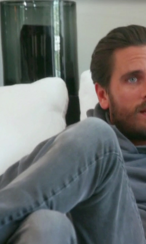 Scott Disick with Saint Laurent Classic Skinny Jeans in Keeping Up With The Kardashians