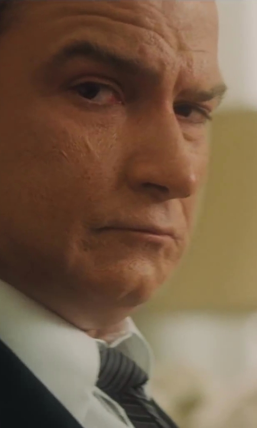 Liev Schreiber with Z Zegna Woven Silk Tie in Lee Daniels' The Butler