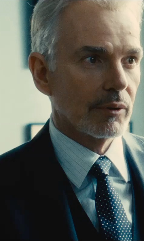Billy Bob Thornton with Hugo Boss Two-piece Suit Set in The Judge
