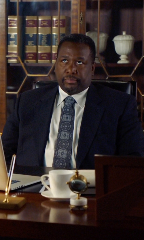 Wendell Pierce with Ralph Lauren Black Label Anthony Two-Button Suit in Suits