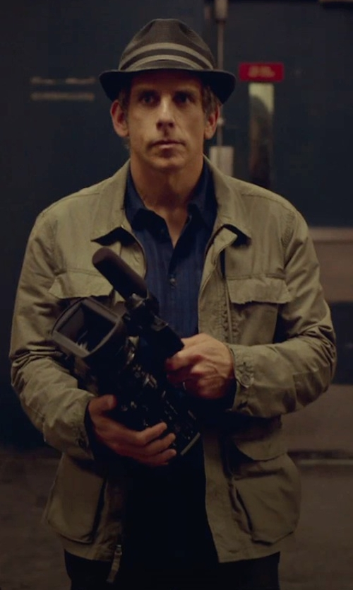 Ben Stiller with Timberland 'Baker Mountain' Hyvent Field Jacket in While We're Young