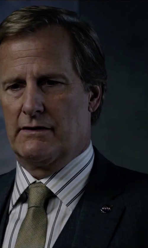 Jeff Daniels with Dolce & Gabbana Martini Three-Piece Suit in The Martian