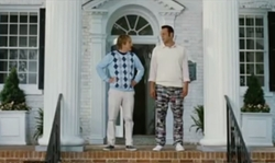 Vince Vaughn with Inn at Perry Cabin  St Michaels, Maryland in Wedding Crashers