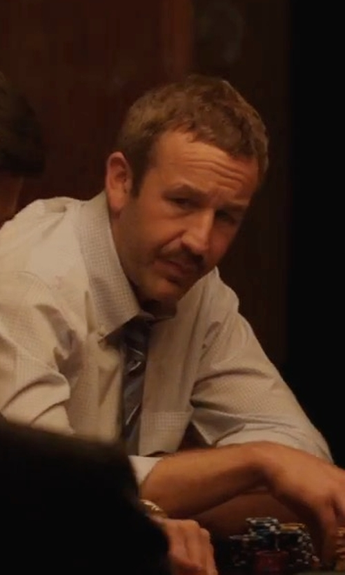 Chris O'Dowd with Nordstrom Men's Shop Regal Stripe Silk Tie in Molly's Game