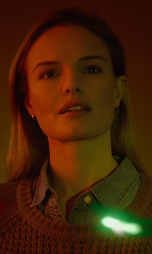 Kate Bosworth with Brooks Brothers Corduroy Button-Down Shirt in Before I Wake