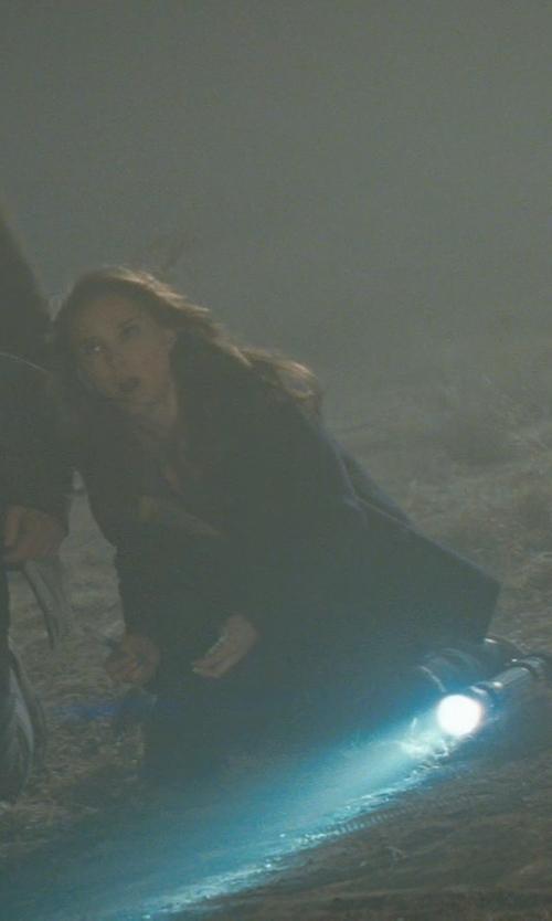 Natalie Portman with Eileen Fisher Fleece Leggings in Thor