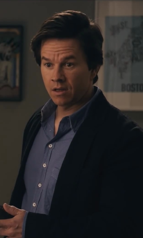 Mark Wahlberg with Jos. A. Bank Executive 2-Button Cashmere Blazer in Ted