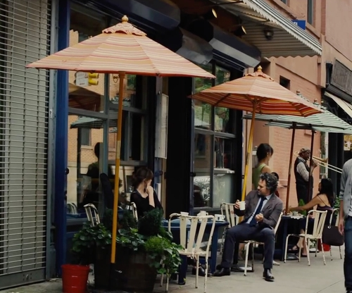 Mark Ruffalo with Cafe Gitane New York City, New York in Begin Again